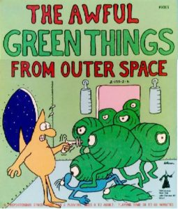 Board Game The Awful Green Things From Outer Space