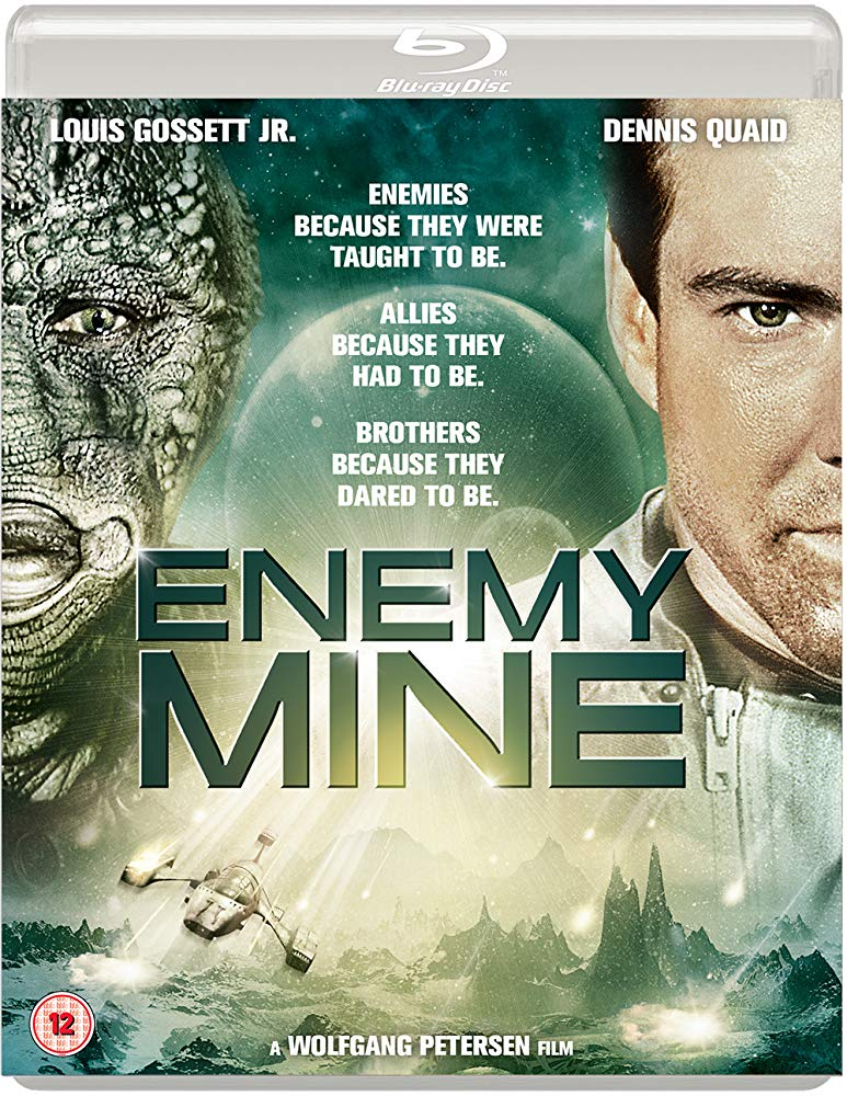 Movie Enemy Mine Louis Gossett, Jr Dennis Quaid