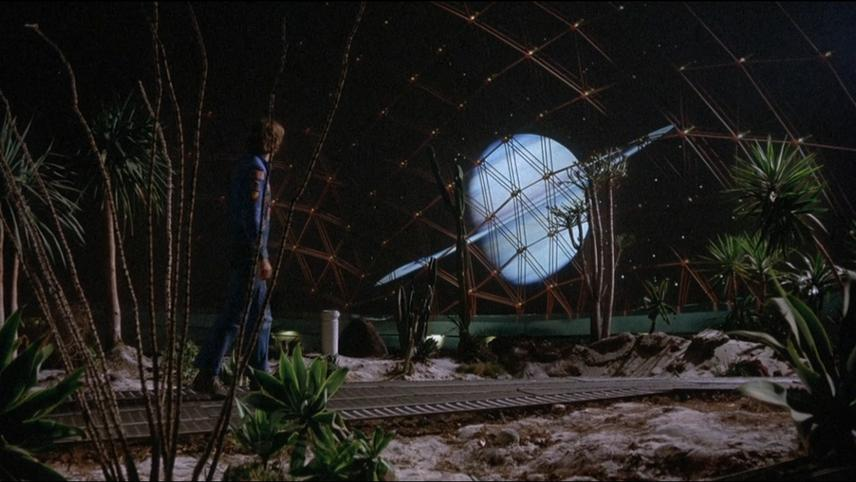Silent Running Greenhouse Dome Interior View